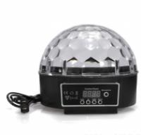 Диско шар с дисплеем (без usb) led magic ball